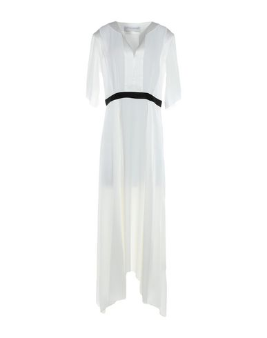 Фото - Платье длиной 3/4 от AMANDA WAKELEY белого цвета
