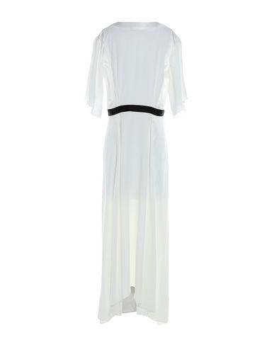 Фото 2 - Платье длиной 3/4 от AMANDA WAKELEY белого цвета