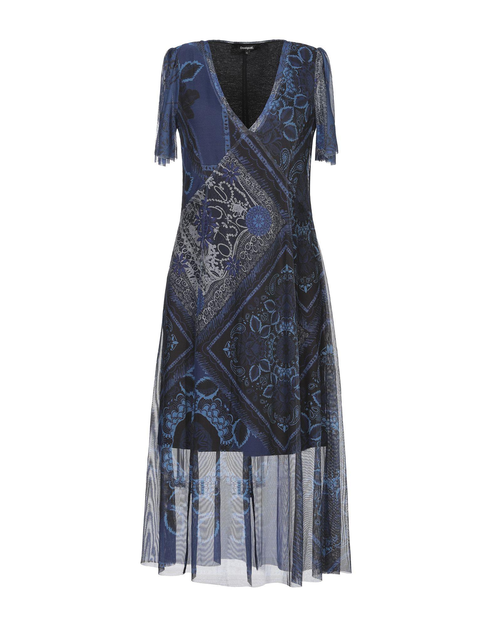 DESIGUAL Платье до колена цена 2017