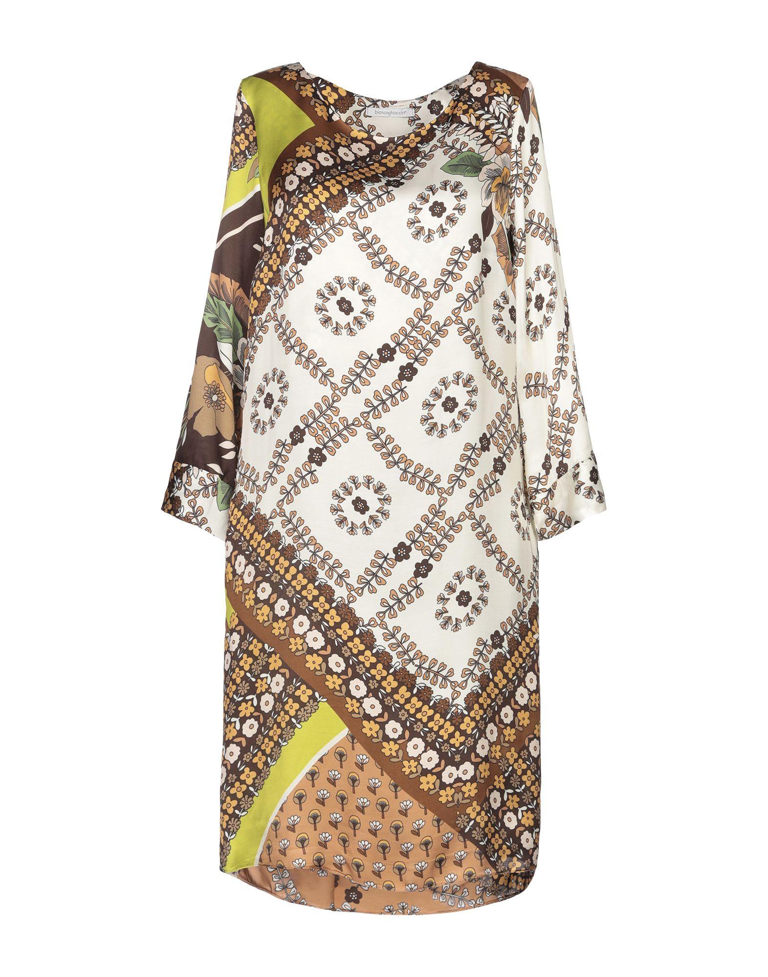 BIANCOGHIACCIO Короткое платье