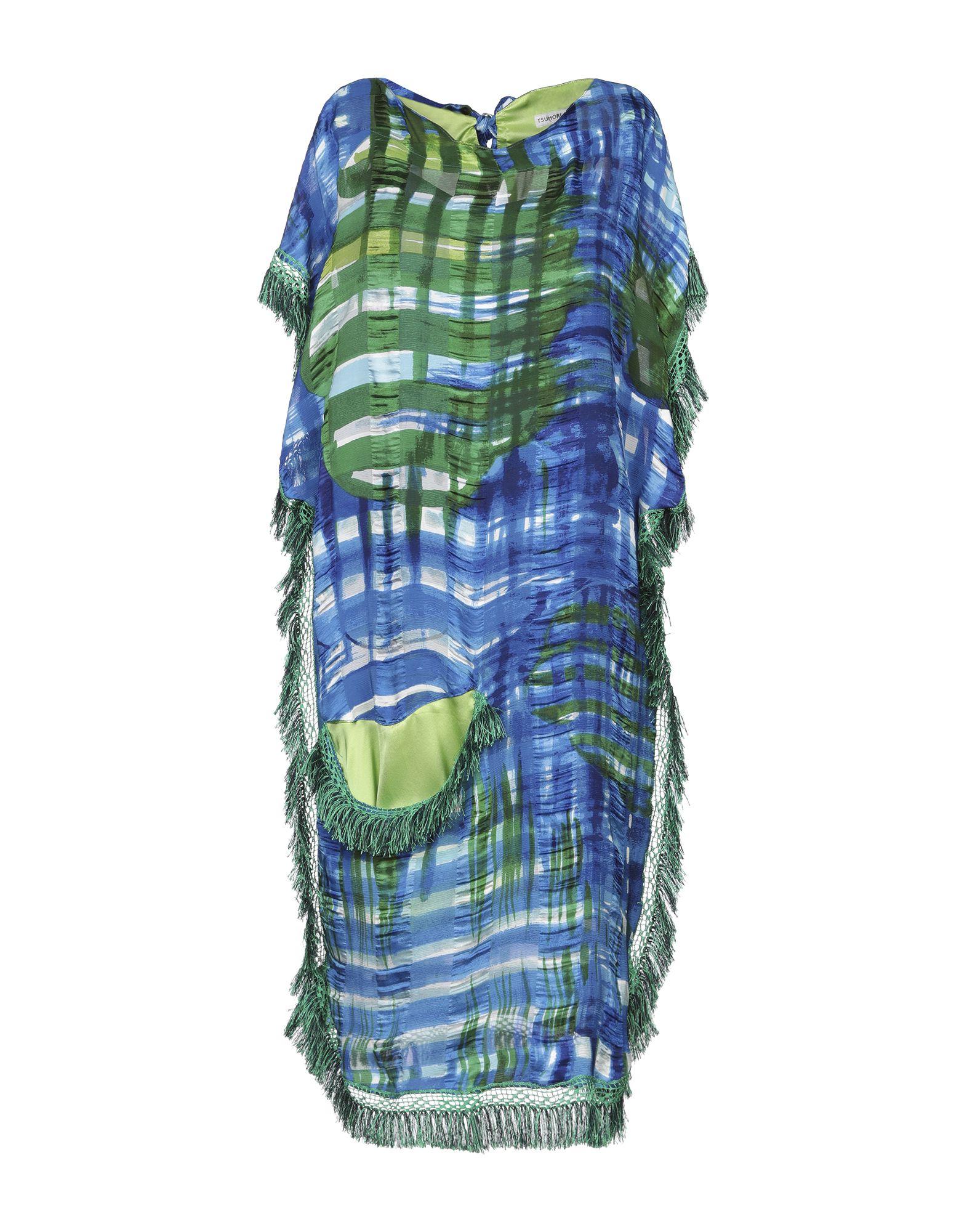 купить TSUMORI CHISATO Платье до колена по цене 30400 рублей
