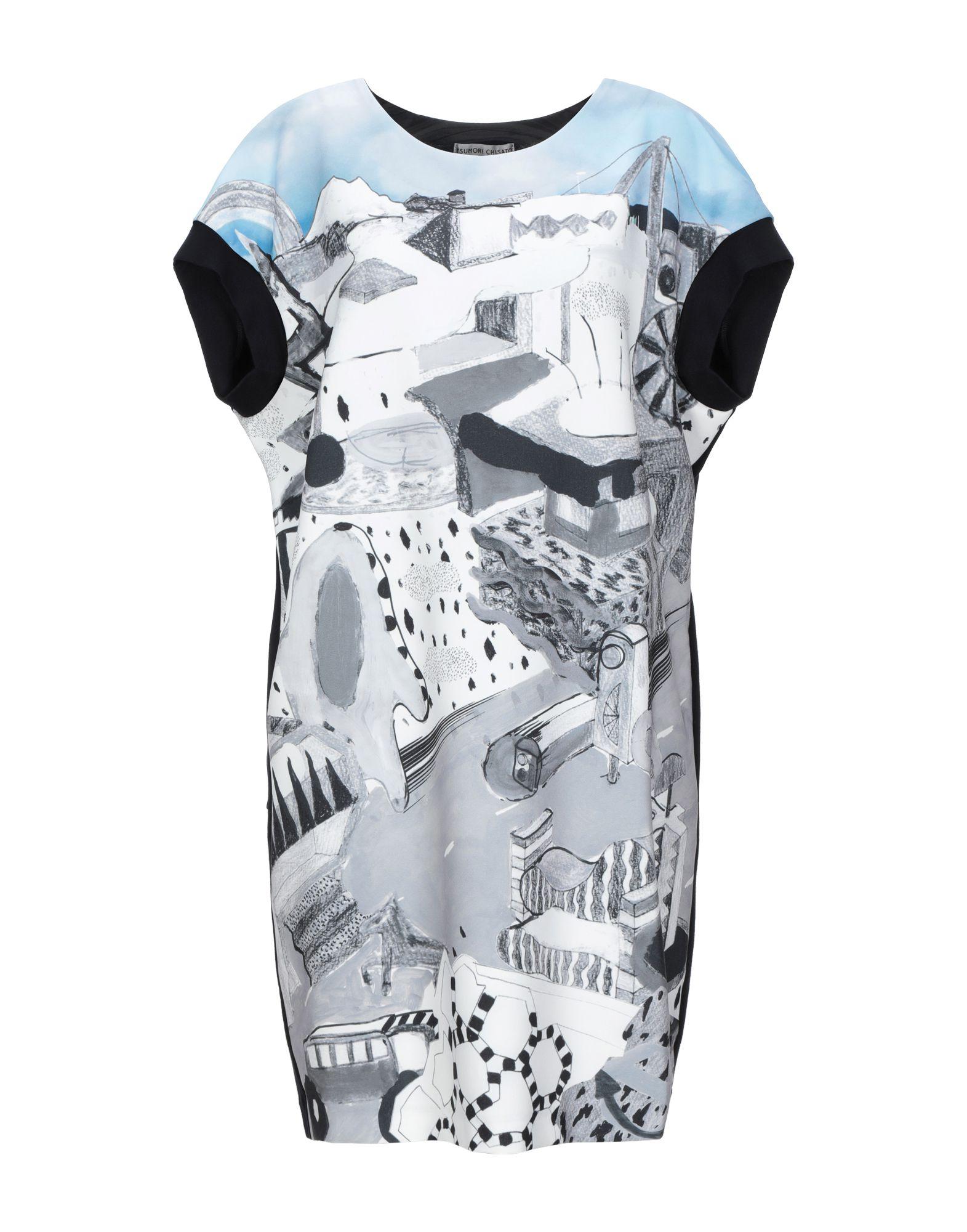 купить TSUMORI CHISATO Короткое платье по цене 15000 рублей