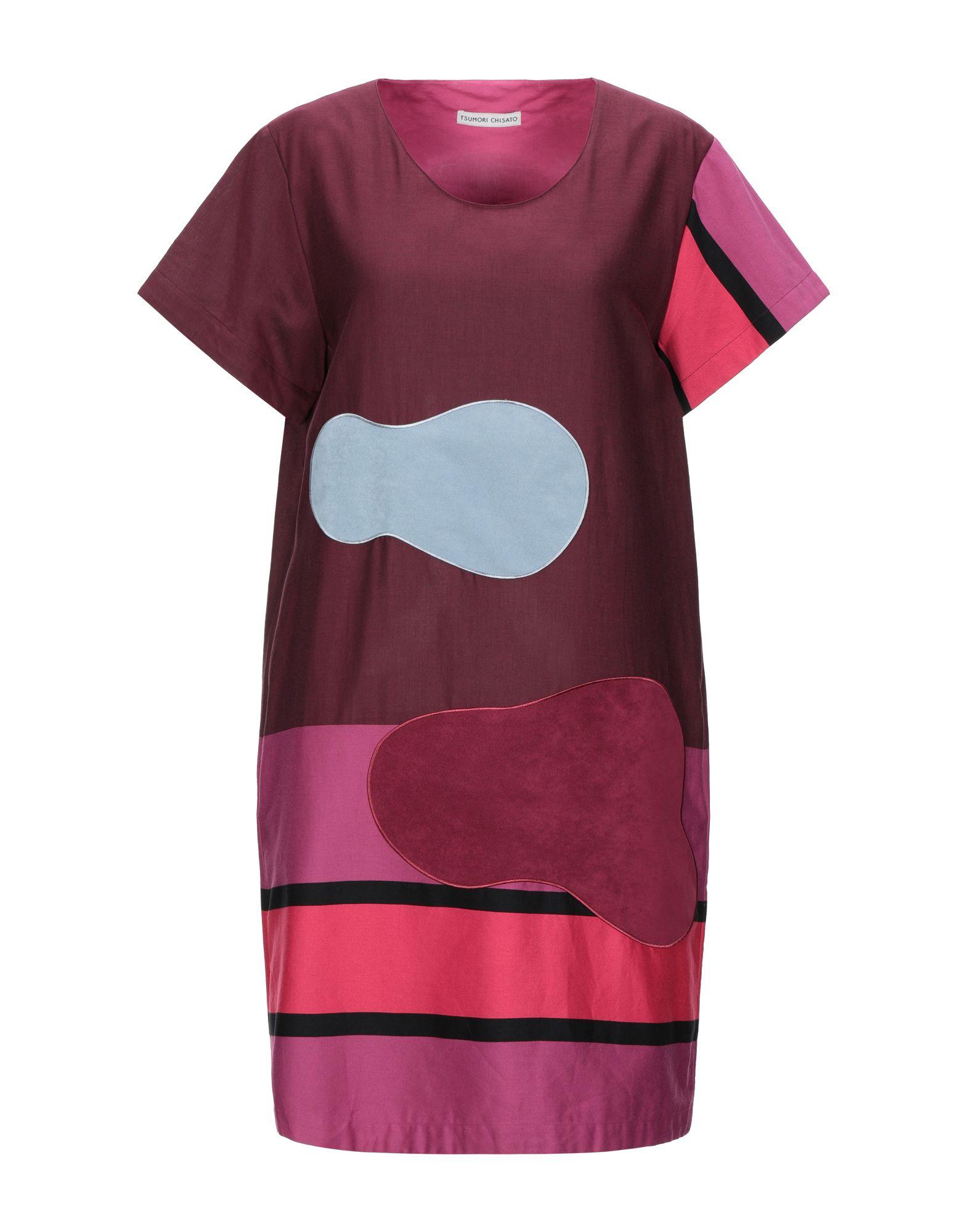 купить TSUMORI CHISATO Короткое платье по цене 16150 рублей