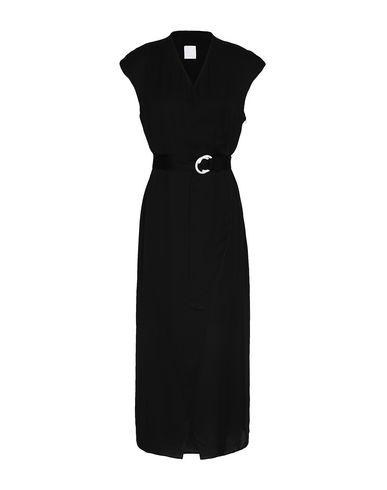 Купить Женское длинное платье 8 by YOOX черного цвета