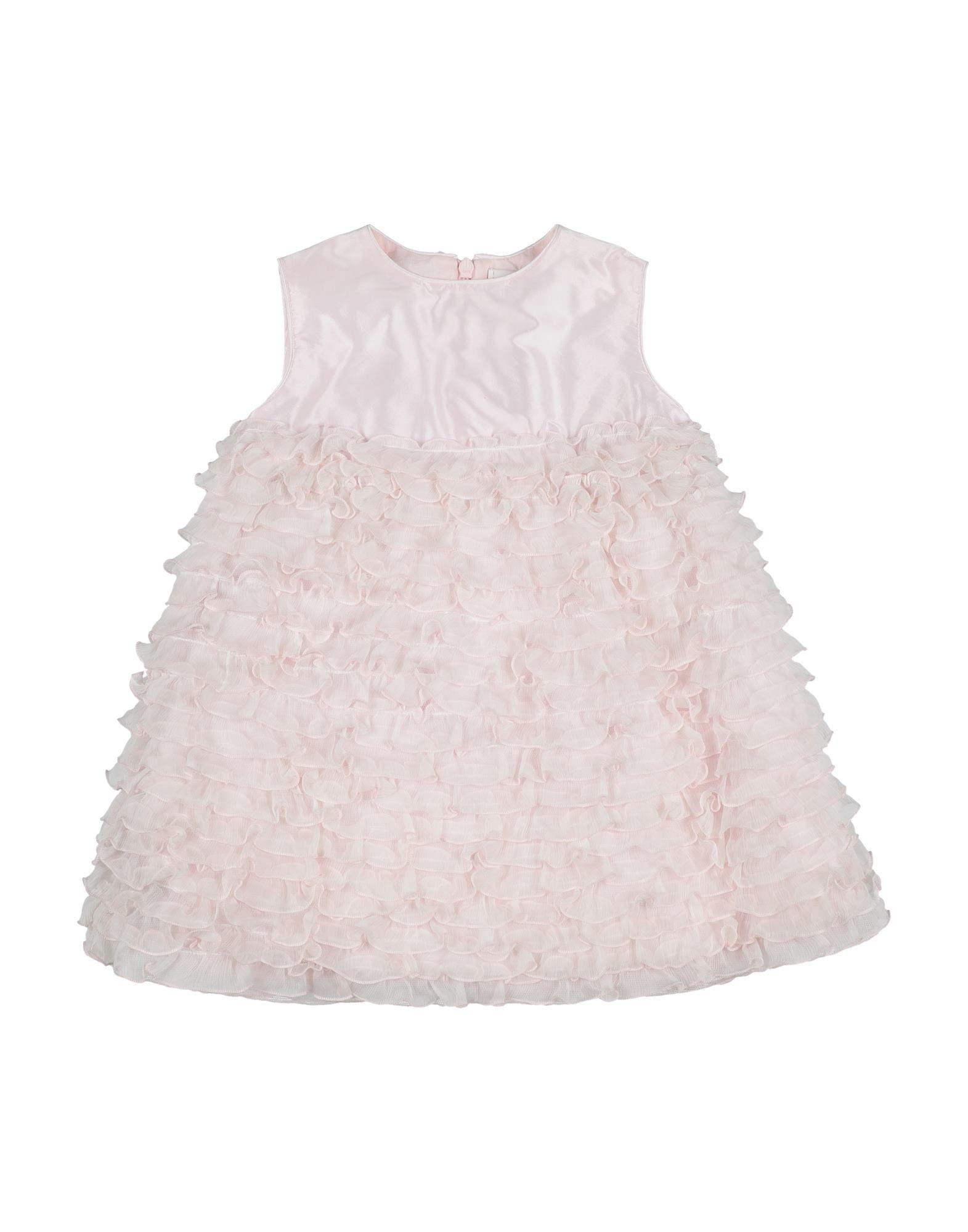《セール開催中》ALETTA ガールズ 0-24 ヶ月 ワンピース・ドレス ライトピンク 12 ナイロン 50% / シルク 50%