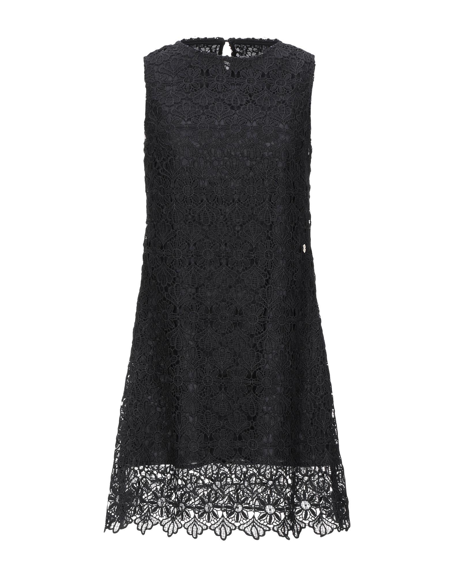 MAISON ESPIN Короткое платье maison espin свитер