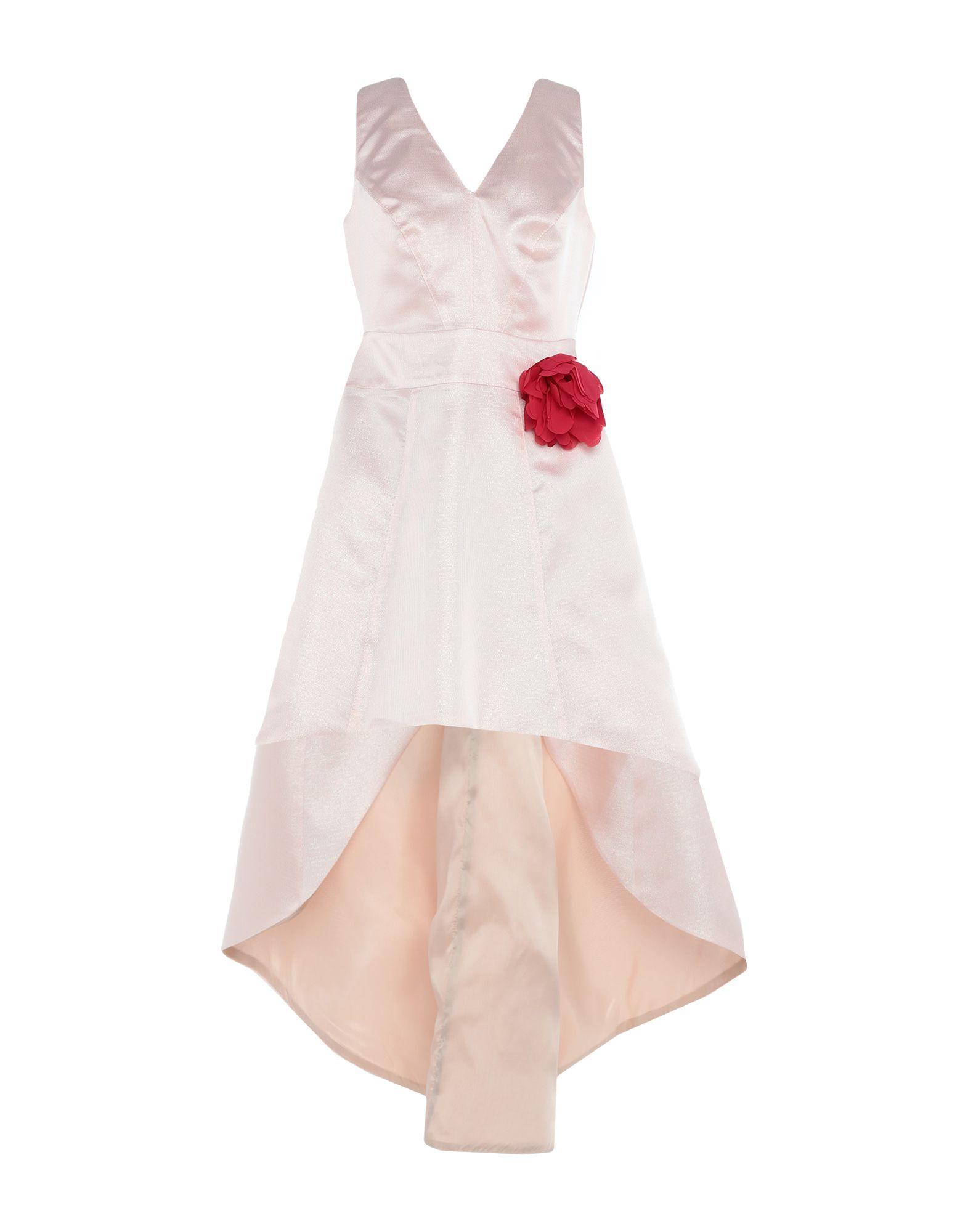 《期間限定セール開催中!》SOALLURE レディース ミニワンピース&ドレス ピンク 38 ポリエステル 100%