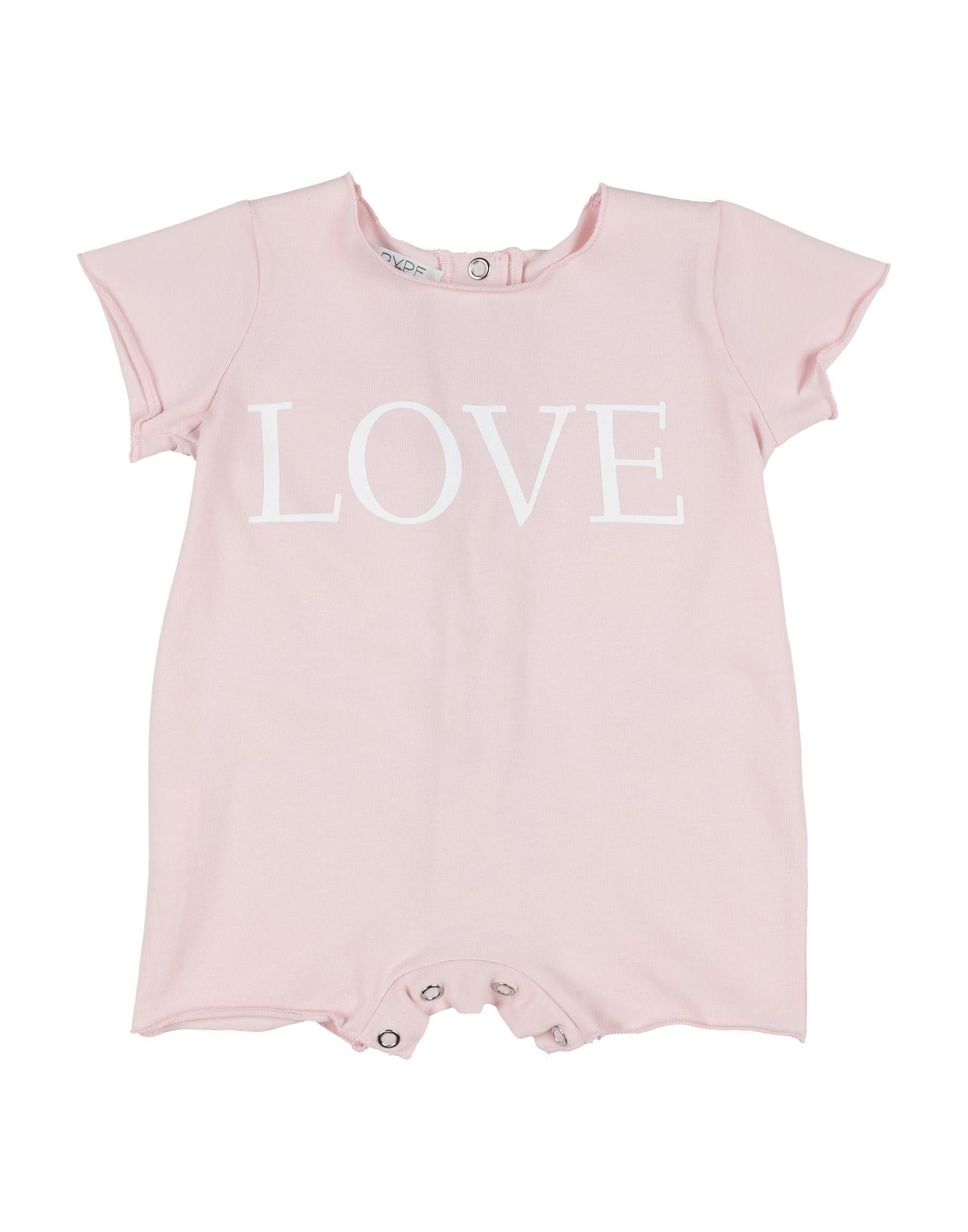 YOOX.COM(ユークス)《セール開催中》PYPE ガールズ 0-24 ヶ月 乳幼児用ロンパース ピンク 3 コットン 90% / ポリウレタン 10%