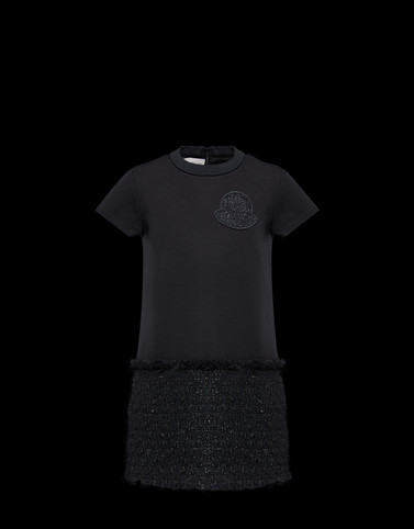 DRESS Black Junior 8-10 Years - Girl