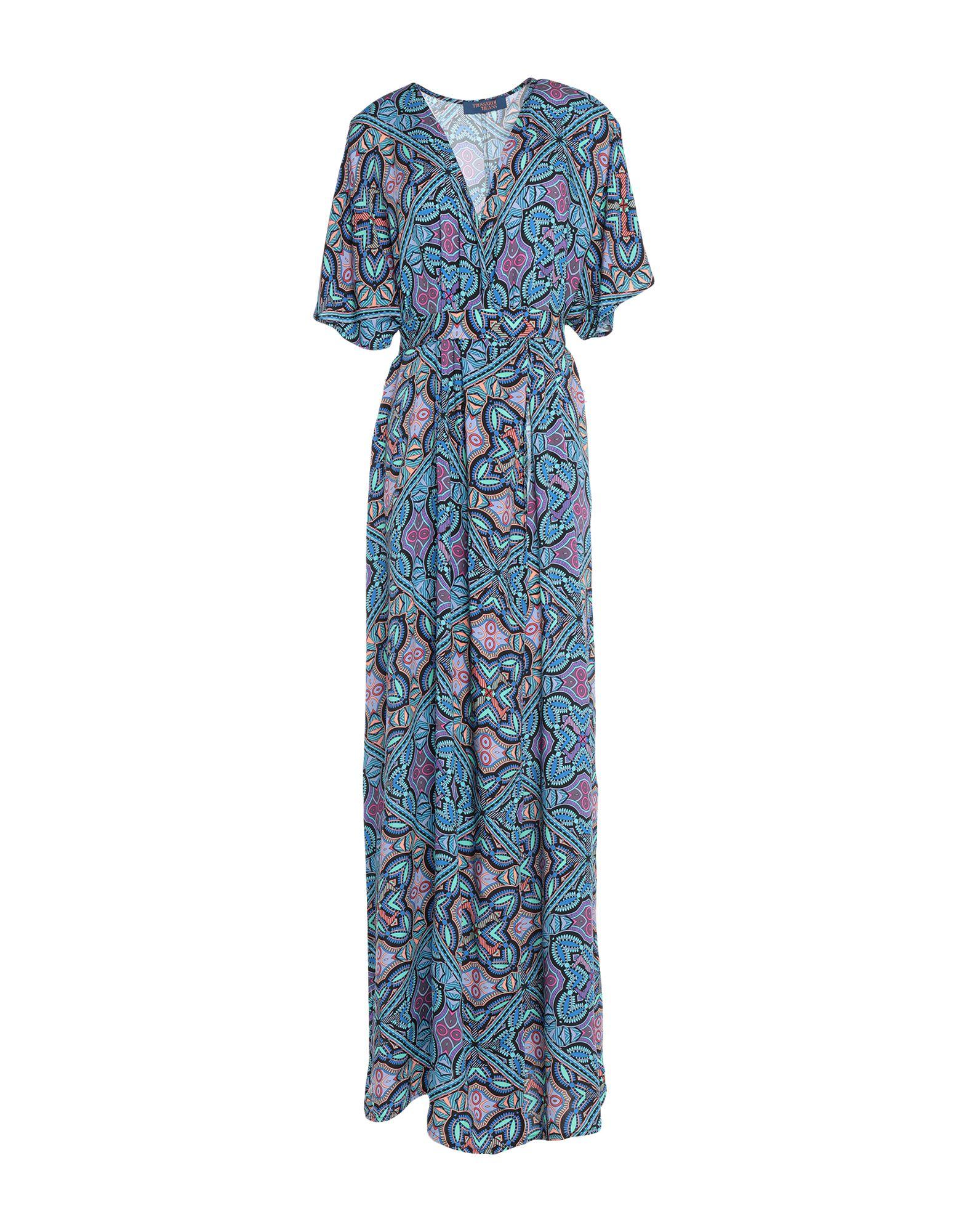 TRUSSARDI JEANS Длинное платье цена