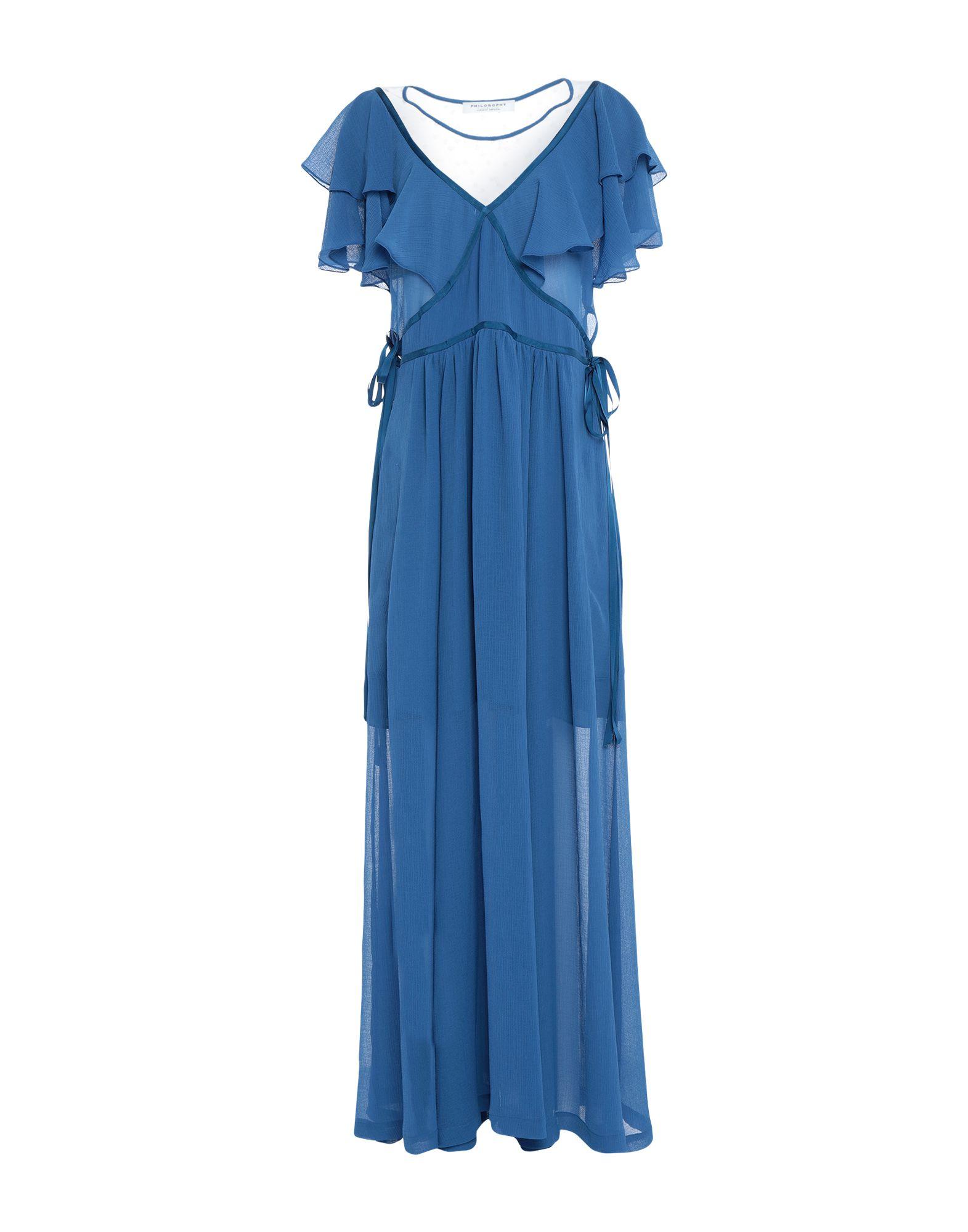 PHILOSOPHY di ALBERTA FERRETTI Длинное платье