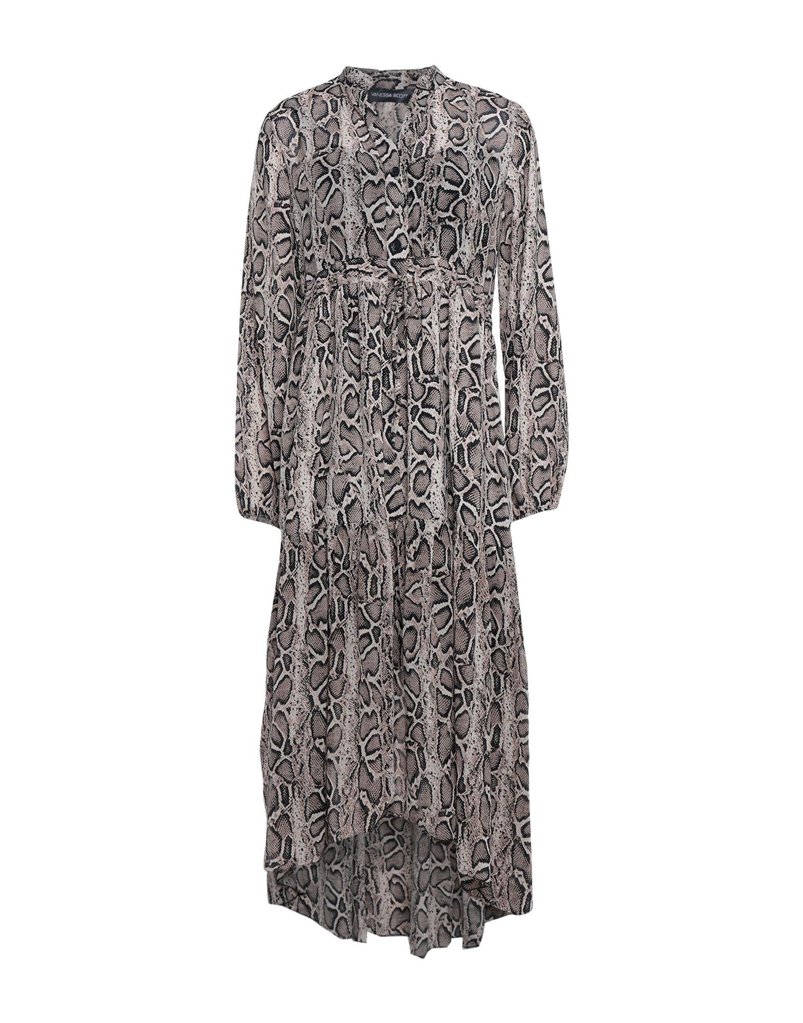 VANESSA SCOTT Длинное платье цена