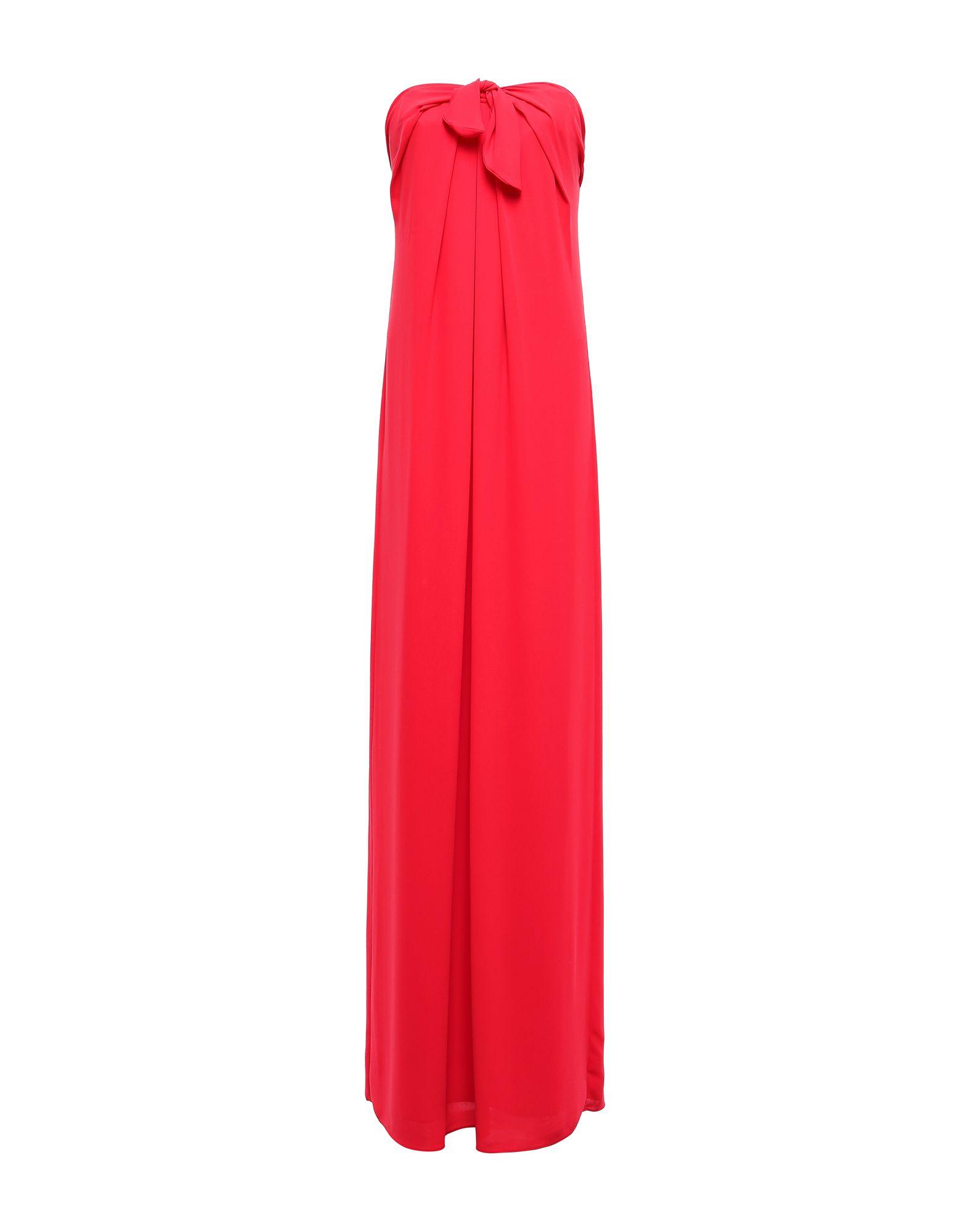 купить HALSTON HERITAGE Длинное платье по цене 23000 рублей