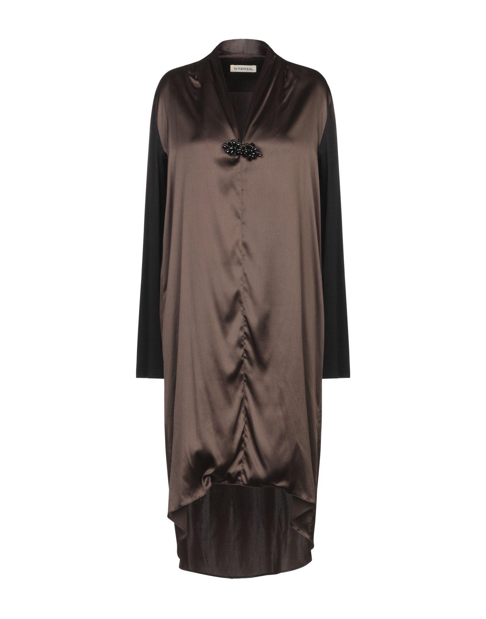 LA FABRIQUE Короткое платье la fabrique легкое пальто