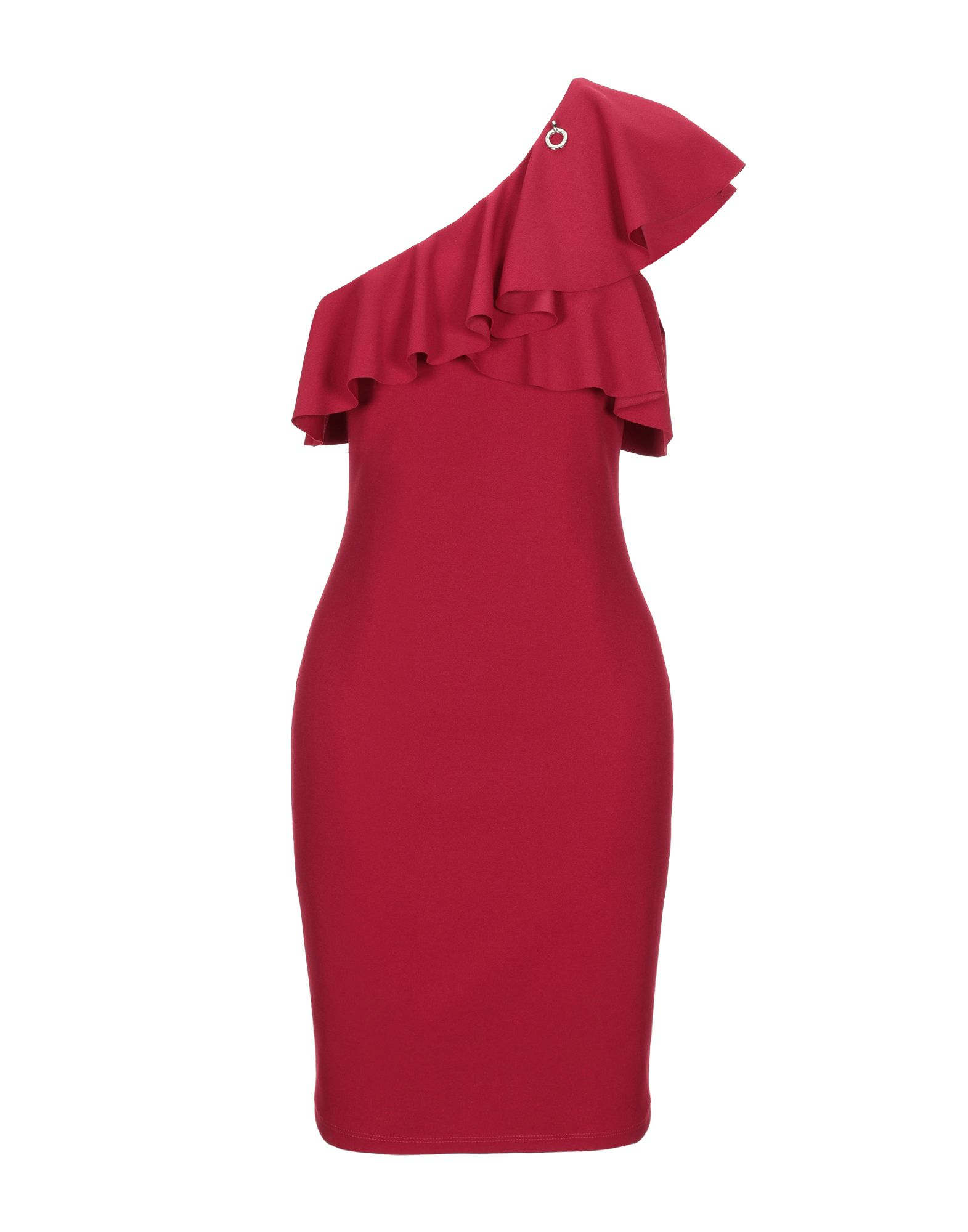 MANGANO Короткое платье платье коктейльное из одно плечо
