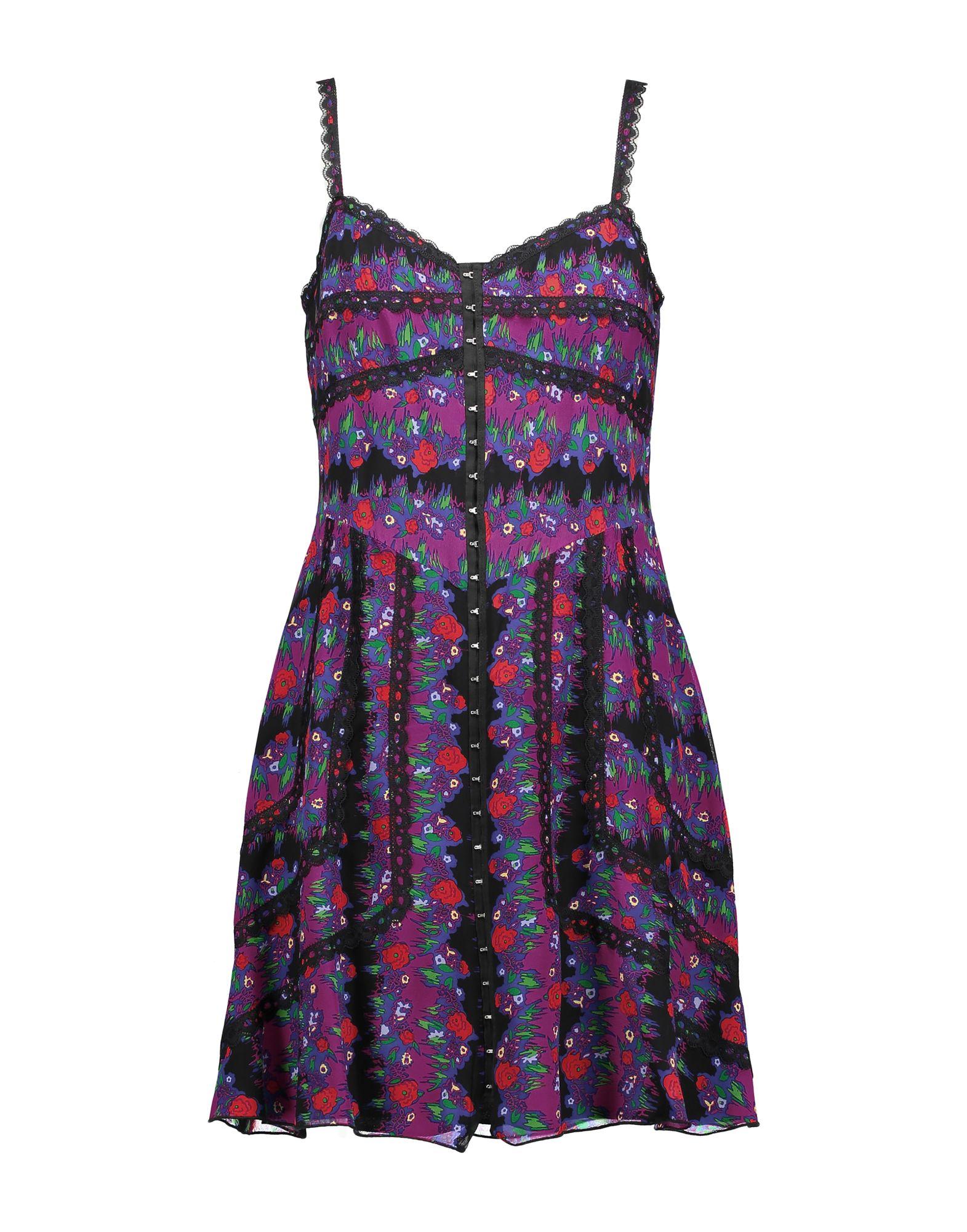 ANNA SUI Короткое платье цены онлайн