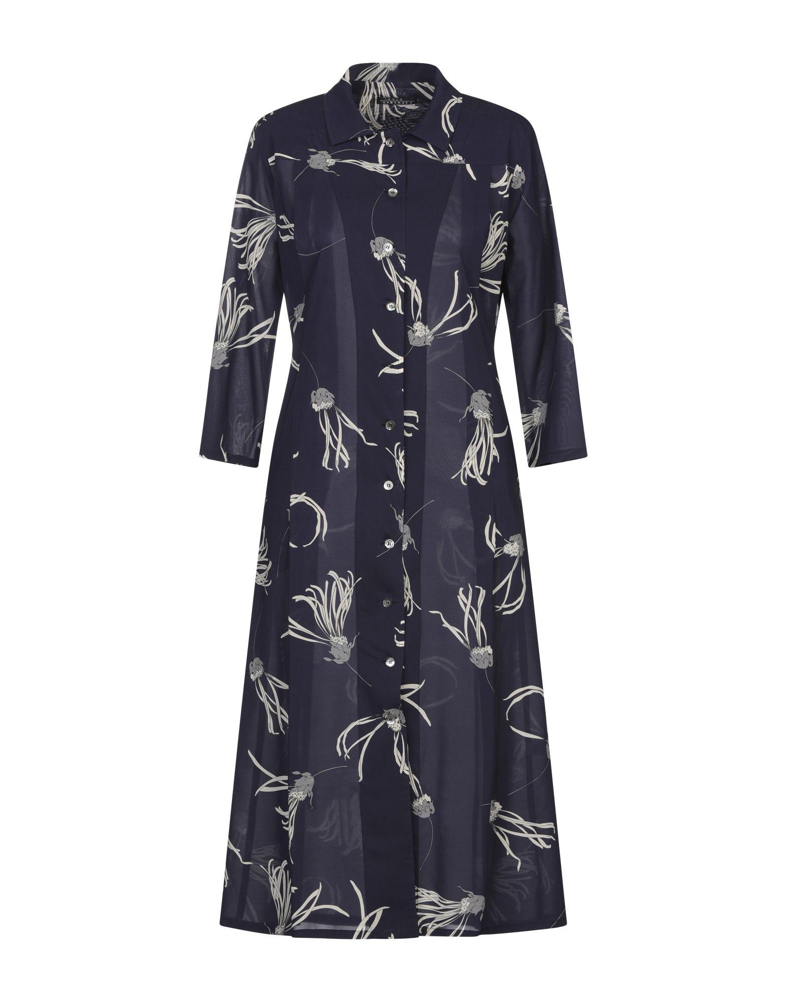 LAURA URBINATI Платье длиной 3/4 полуприлегающее платье с рукавами 3 4 laura bettini