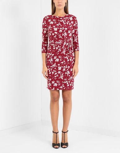 Фото 2 - Женское короткое платье LAUREN RALPH LAUREN цвет пурпурный