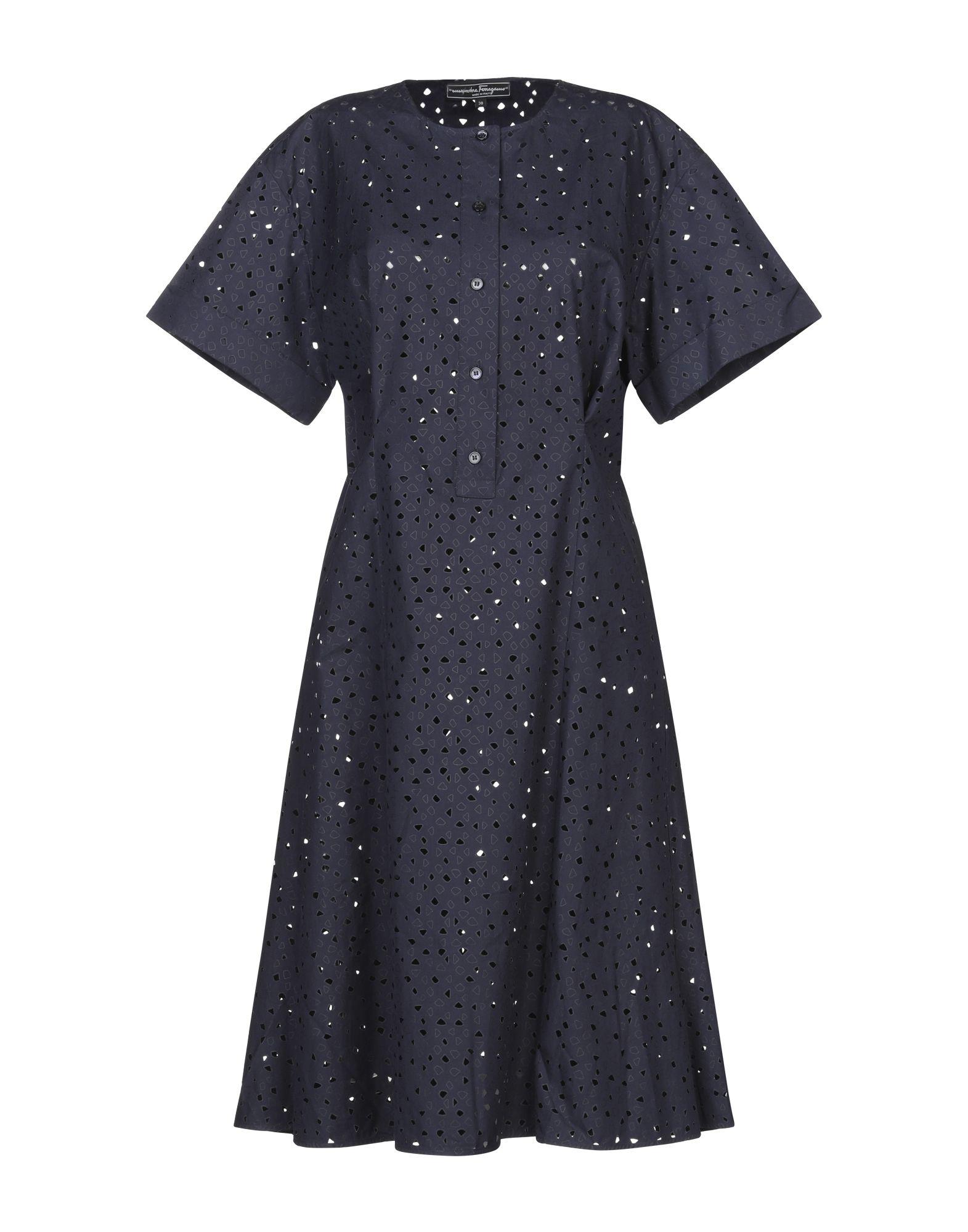 купить SALVATORE FERRAGAMO Платье до колена по цене 87000 рублей