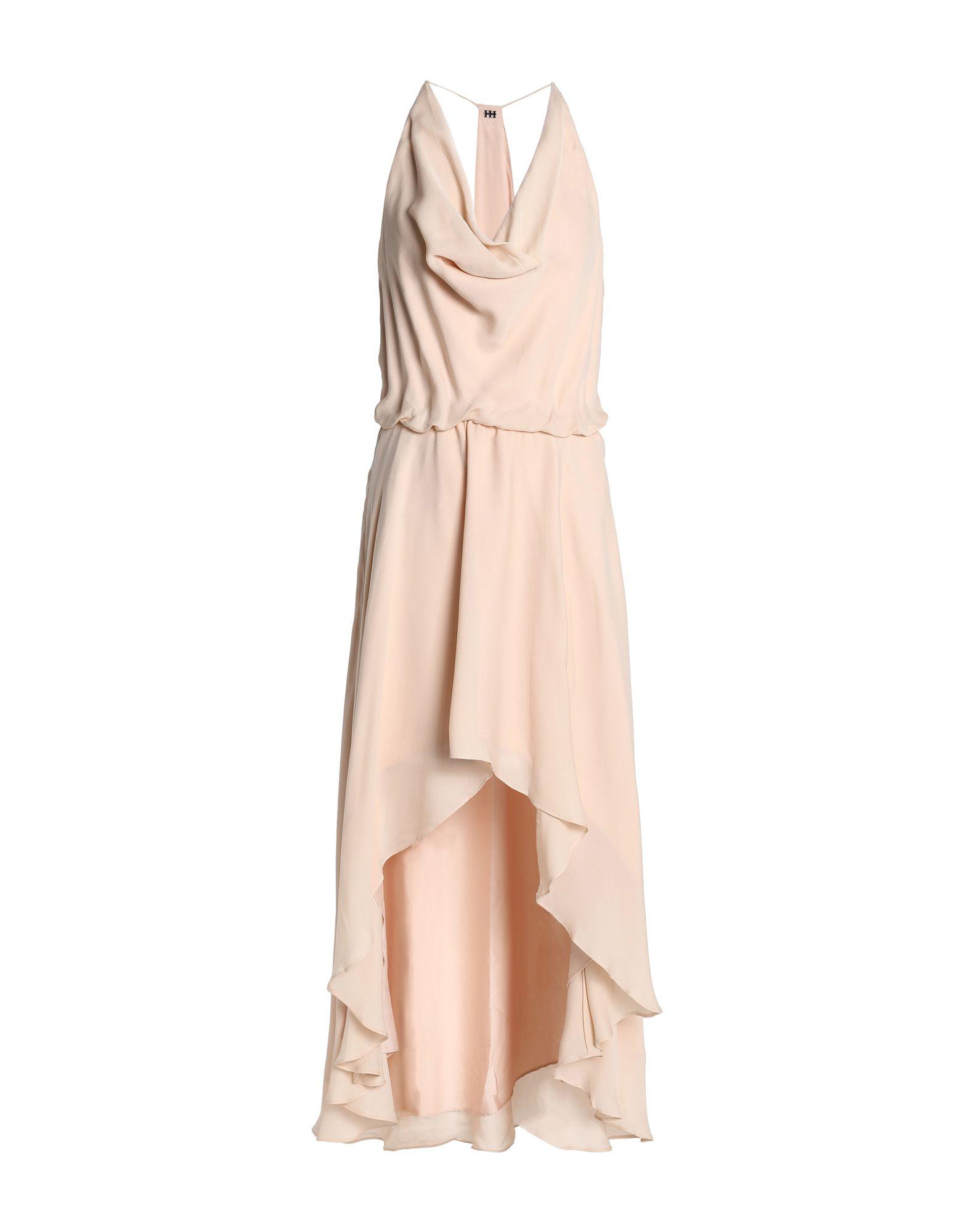 купить HAUTE HIPPIE Платье длиной 3/4 по цене 27500 рублей