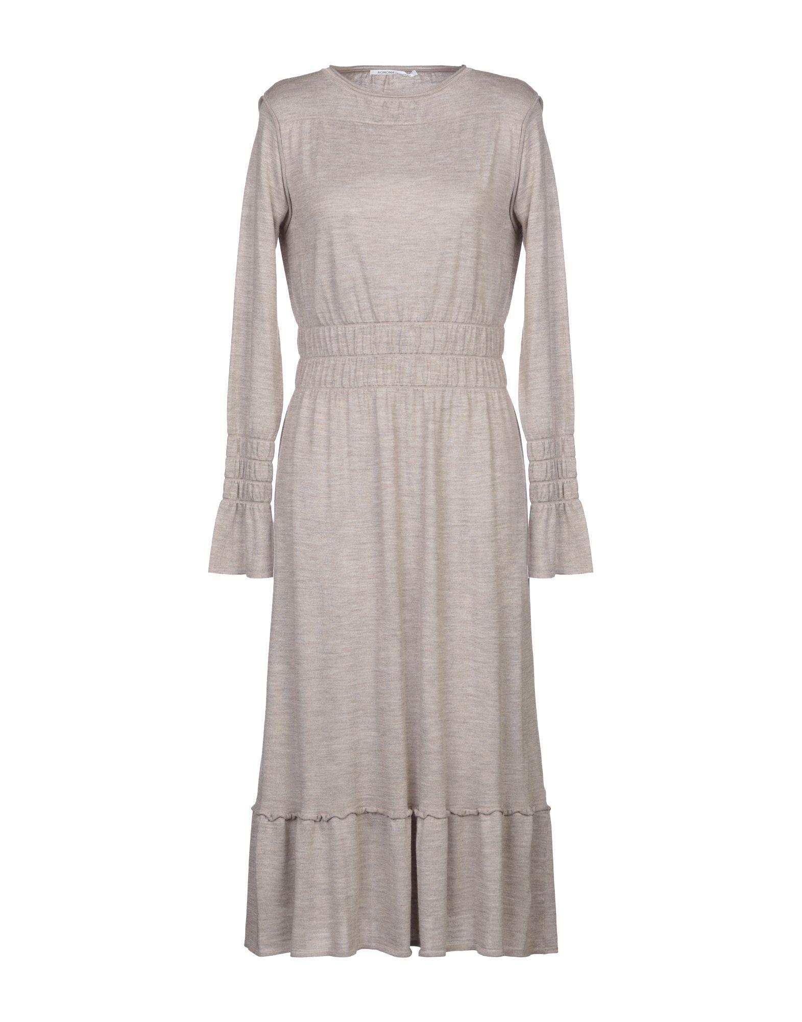 AGNONA Платье длиной 3/4 цена 2017