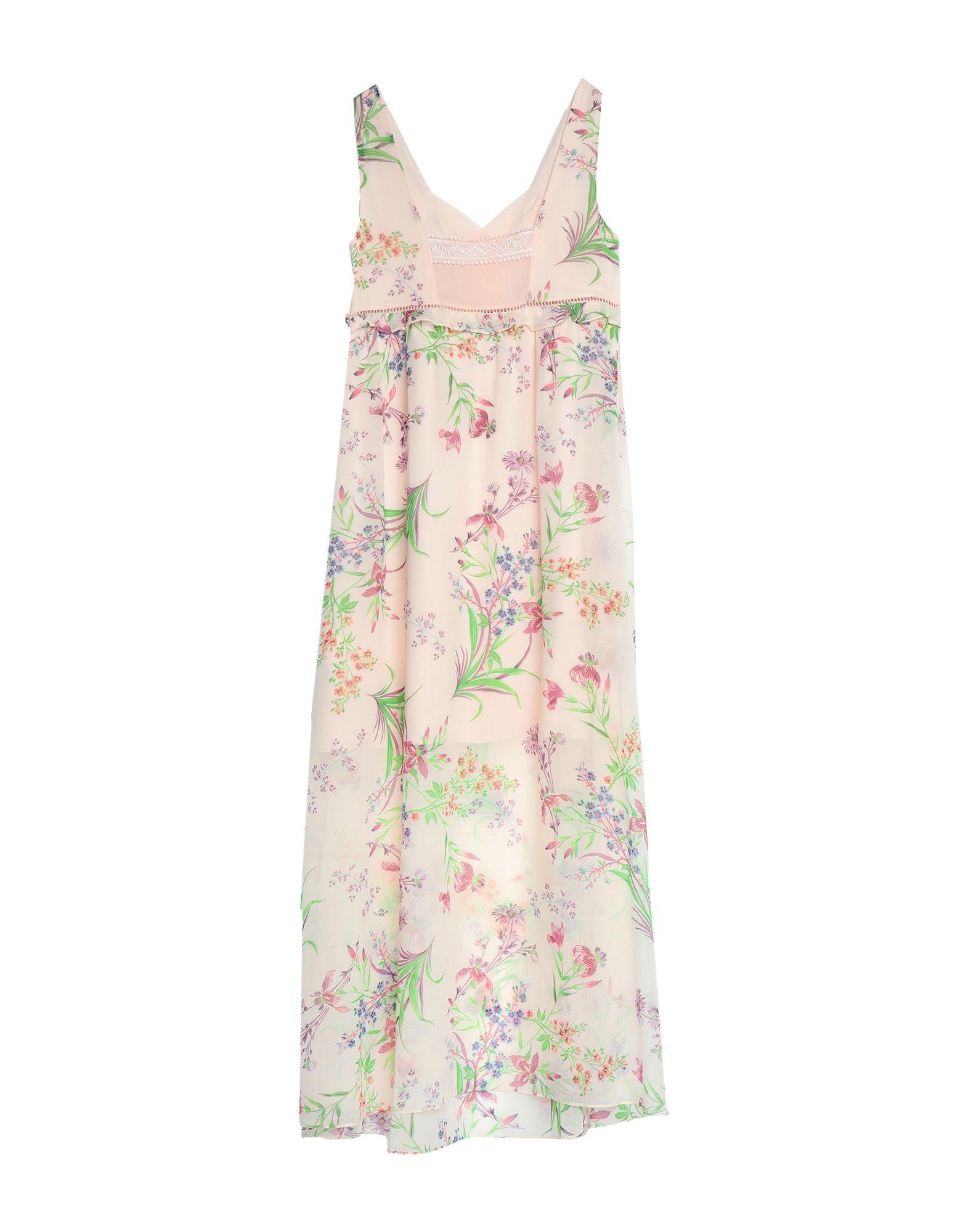 NAF NAF Длинное платье цена 2017
