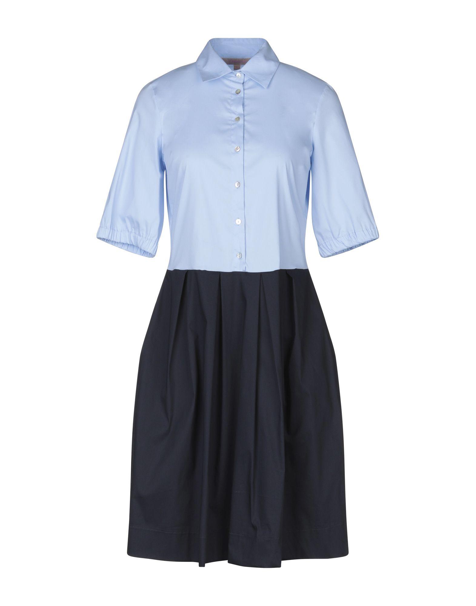 LA CAMICIA Платье до колена