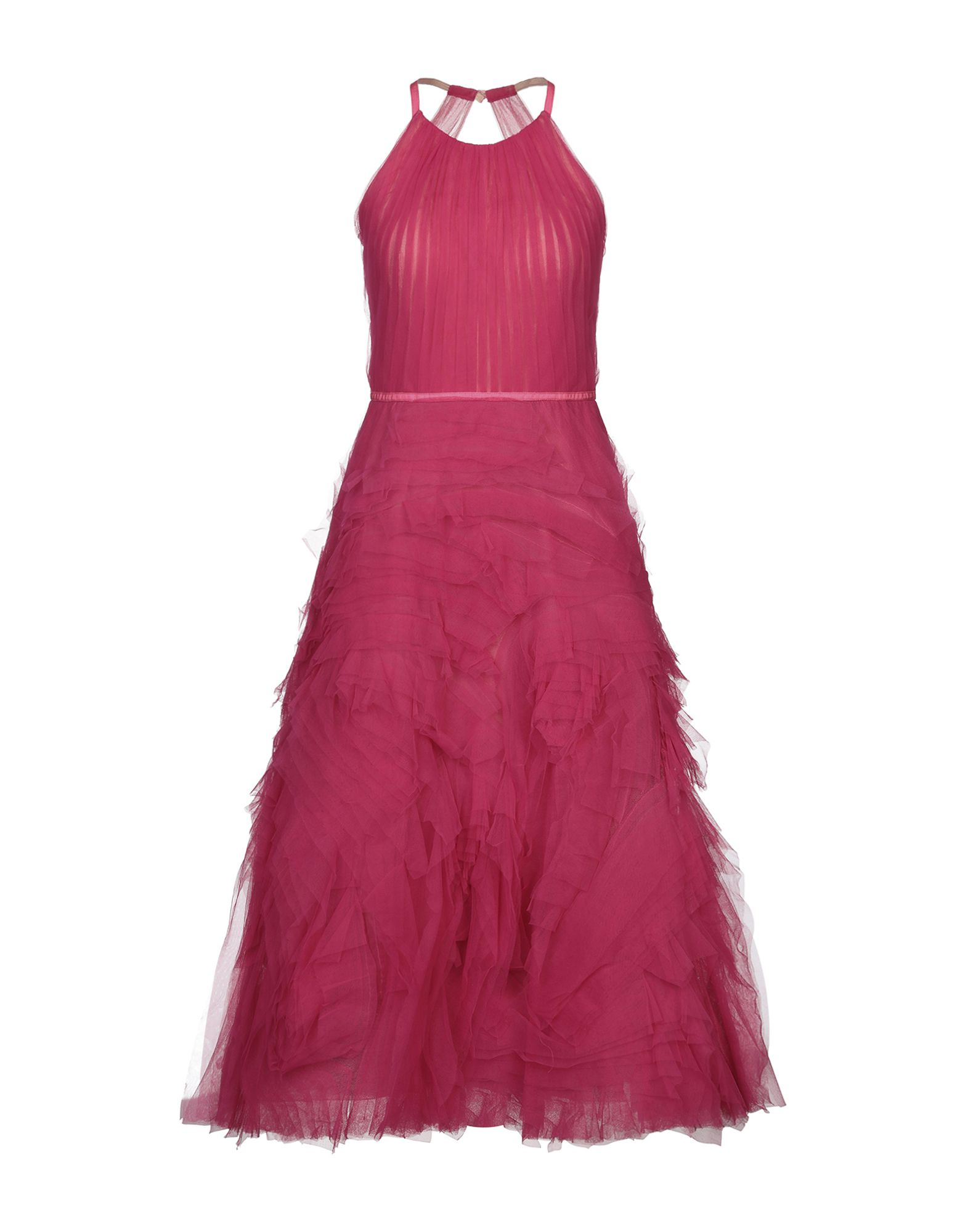 《セール開催中》MARCHESA NOTTE レディース ロングワンピース&ドレス フューシャ 6 ナイロン 100% / レーヨン