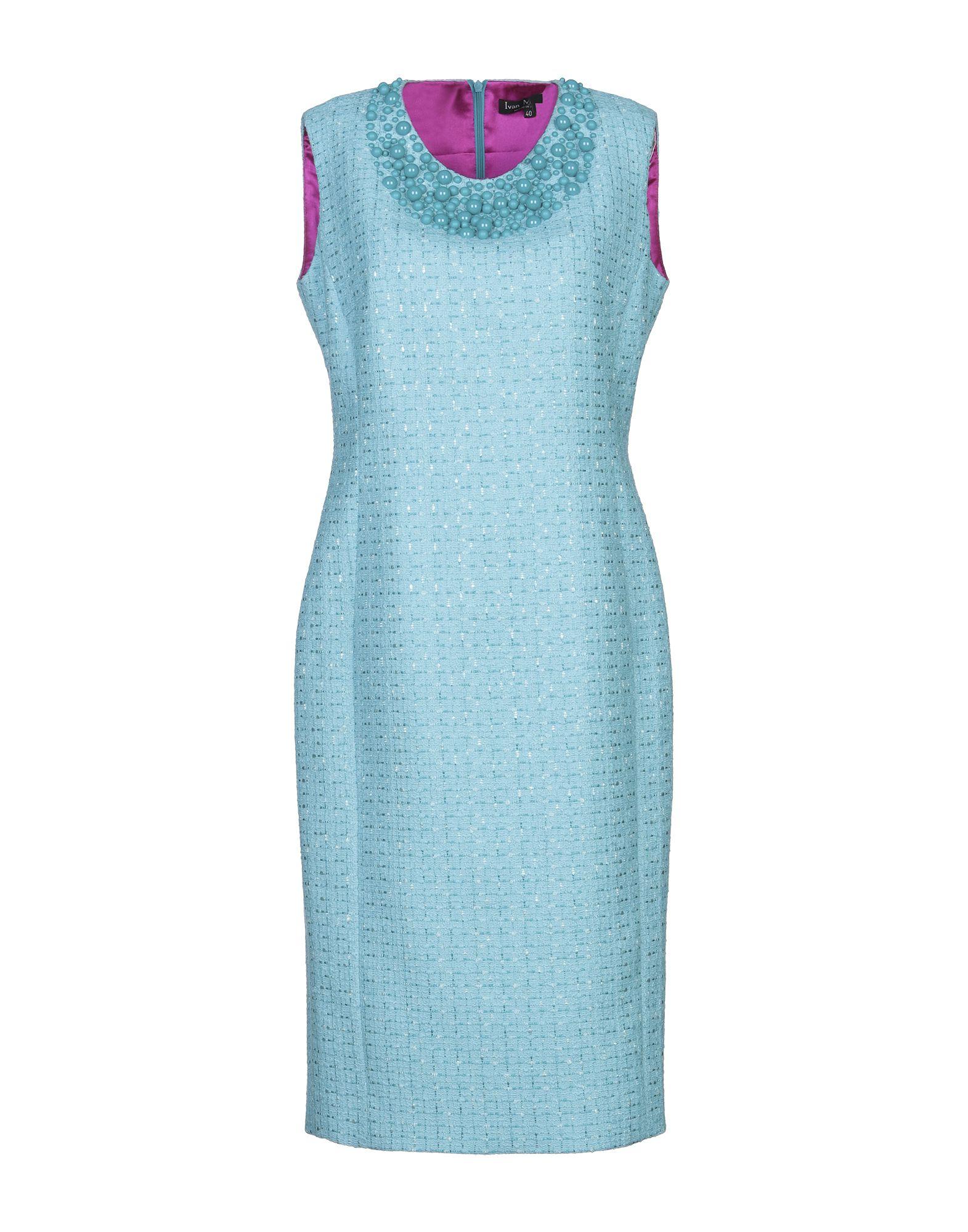 IVAN MONTESI Платье до колена ivan montesi длинное платье