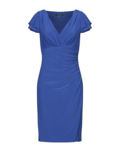 Фото - Платье до колена от LAUREN RALPH LAUREN ярко-синего цвета