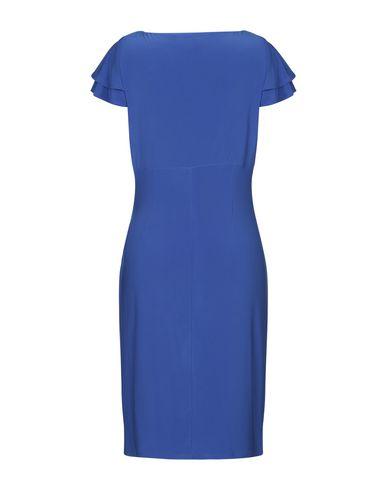 Фото 2 - Платье до колена от LAUREN RALPH LAUREN ярко-синего цвета