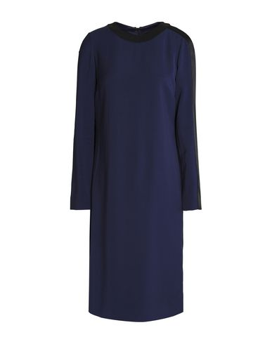 Фото - Платье до колена от AMANDA WAKELEY темно-синего цвета