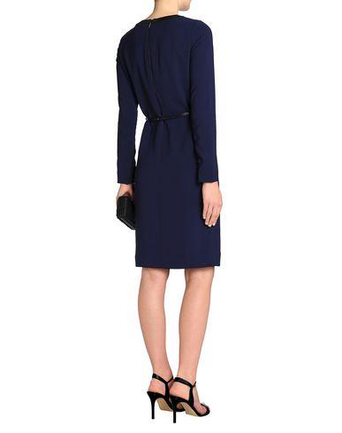 Фото 2 - Платье до колена от AMANDA WAKELEY темно-синего цвета