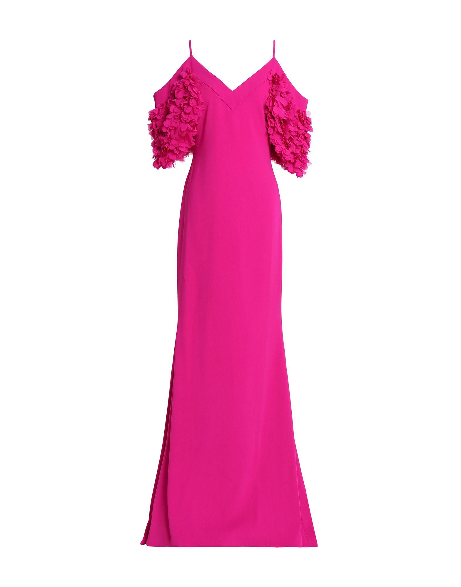 《セール開催中》BADGLEY MISCHKA レディース ロングワンピース&ドレス フューシャ 4 ポリエステル 98% / ポリウレタン 2%