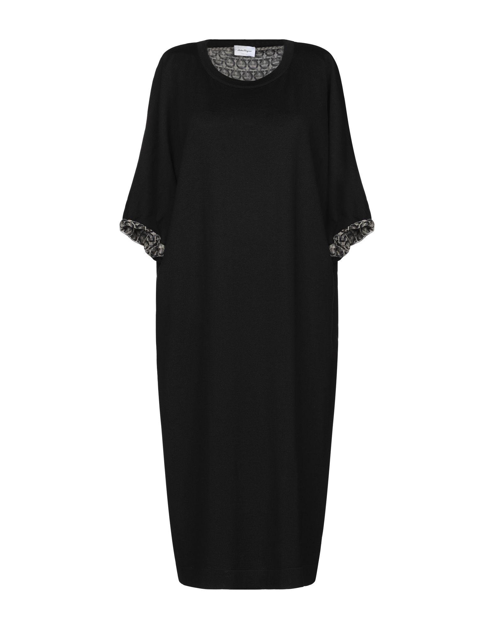 купить SALVATORE FERRAGAMO Платье до колена по цене 40500 рублей
