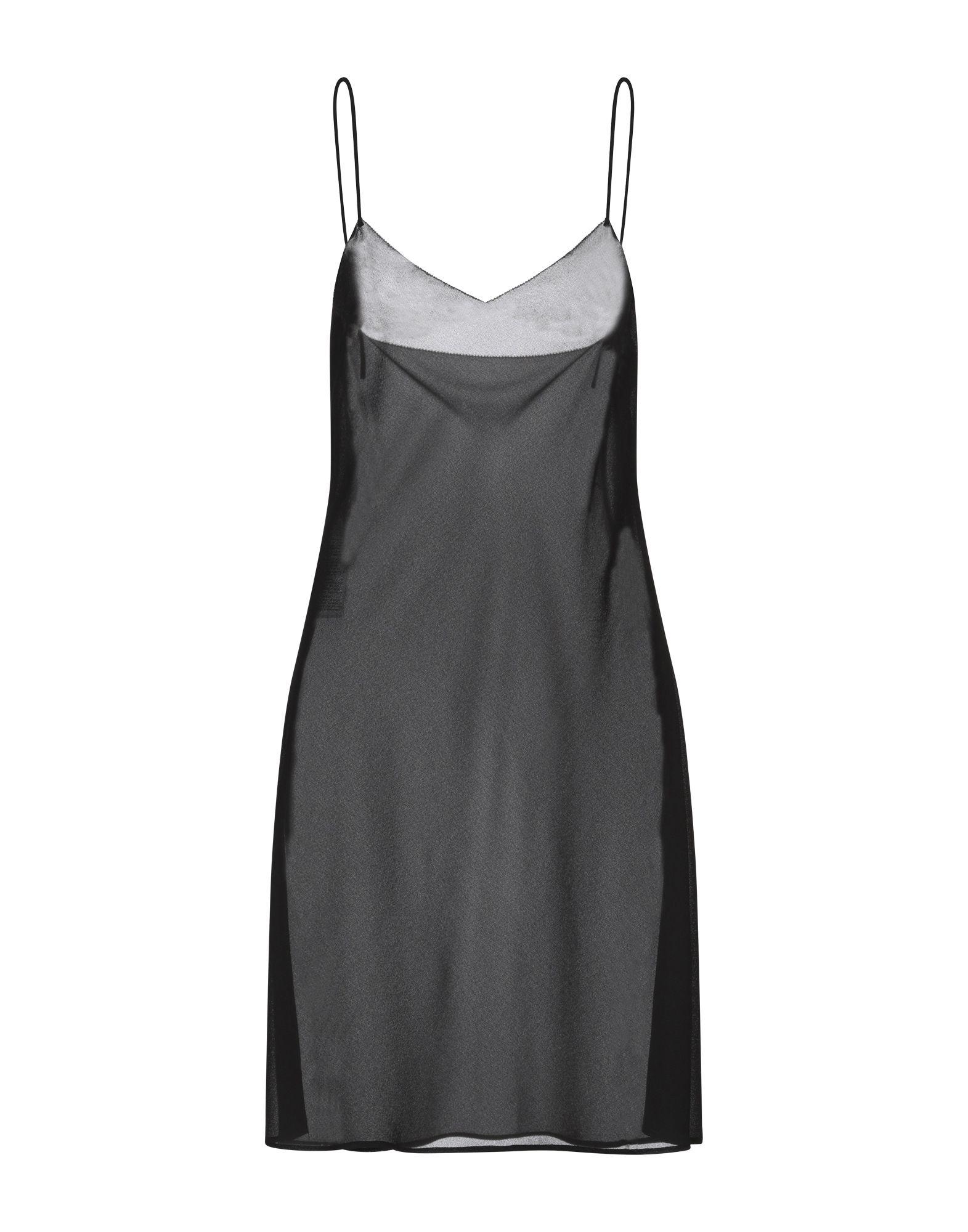 McQ Alexander McQueen Короткое платье mcq alexander mcqueen комбинезоны без бретелей