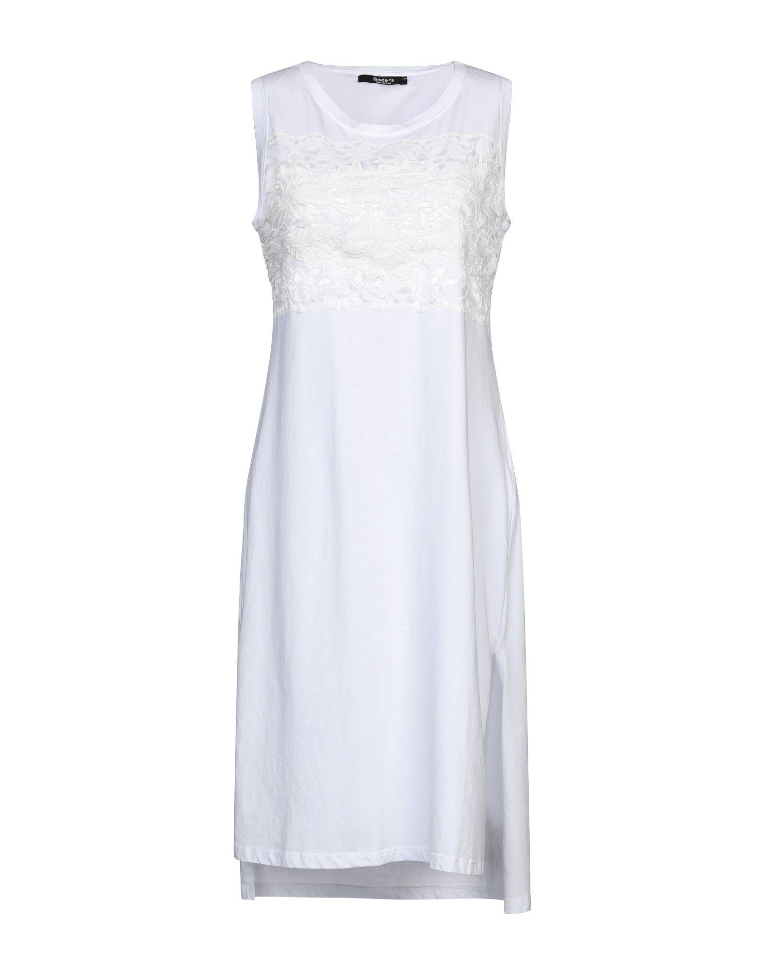 SISTE' S Платье до колена цена и фото