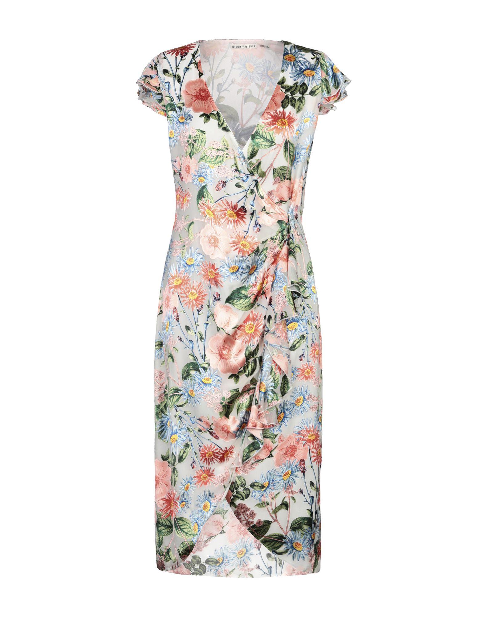 купить ALICE + OLIVIA Платье до колена по цене 21500 рублей