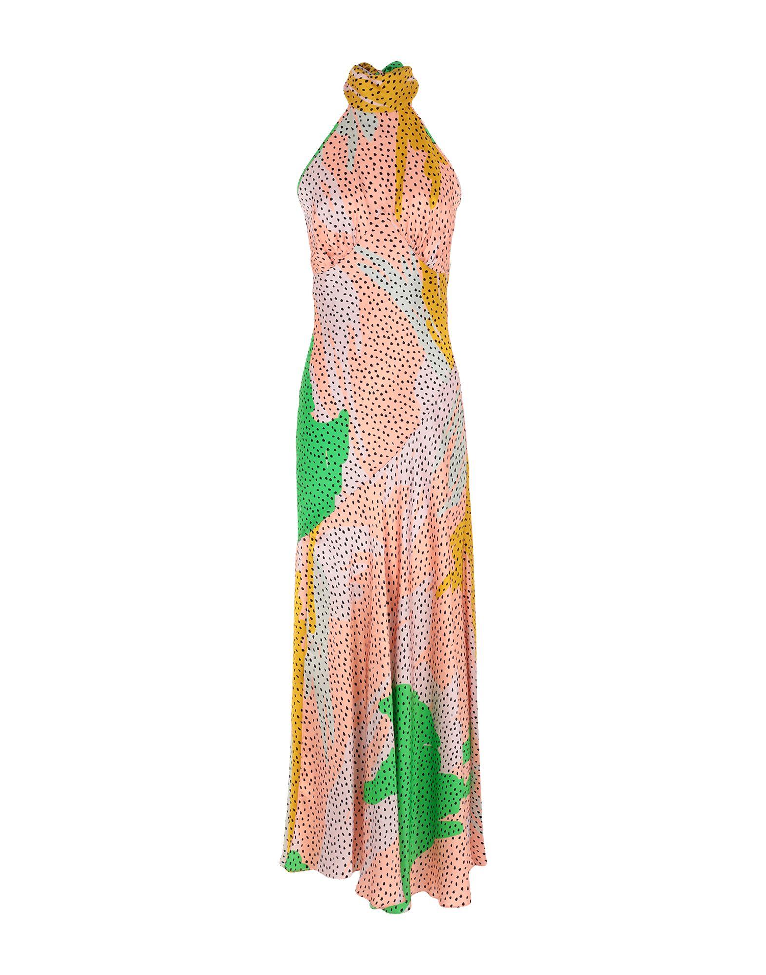 DE LA VALI Длинное платье