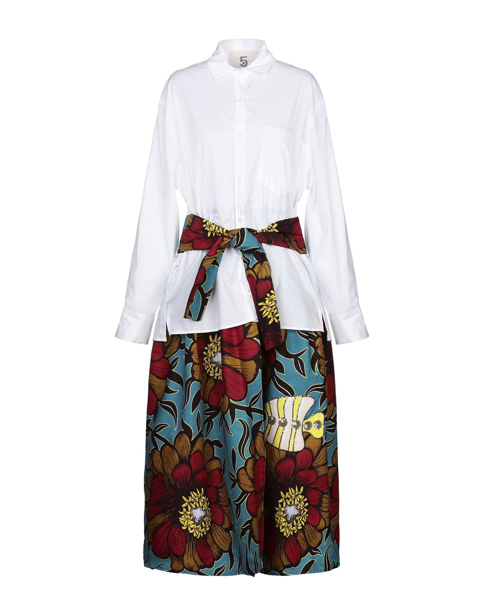 5 PROGRESS Платье длиной 3/4