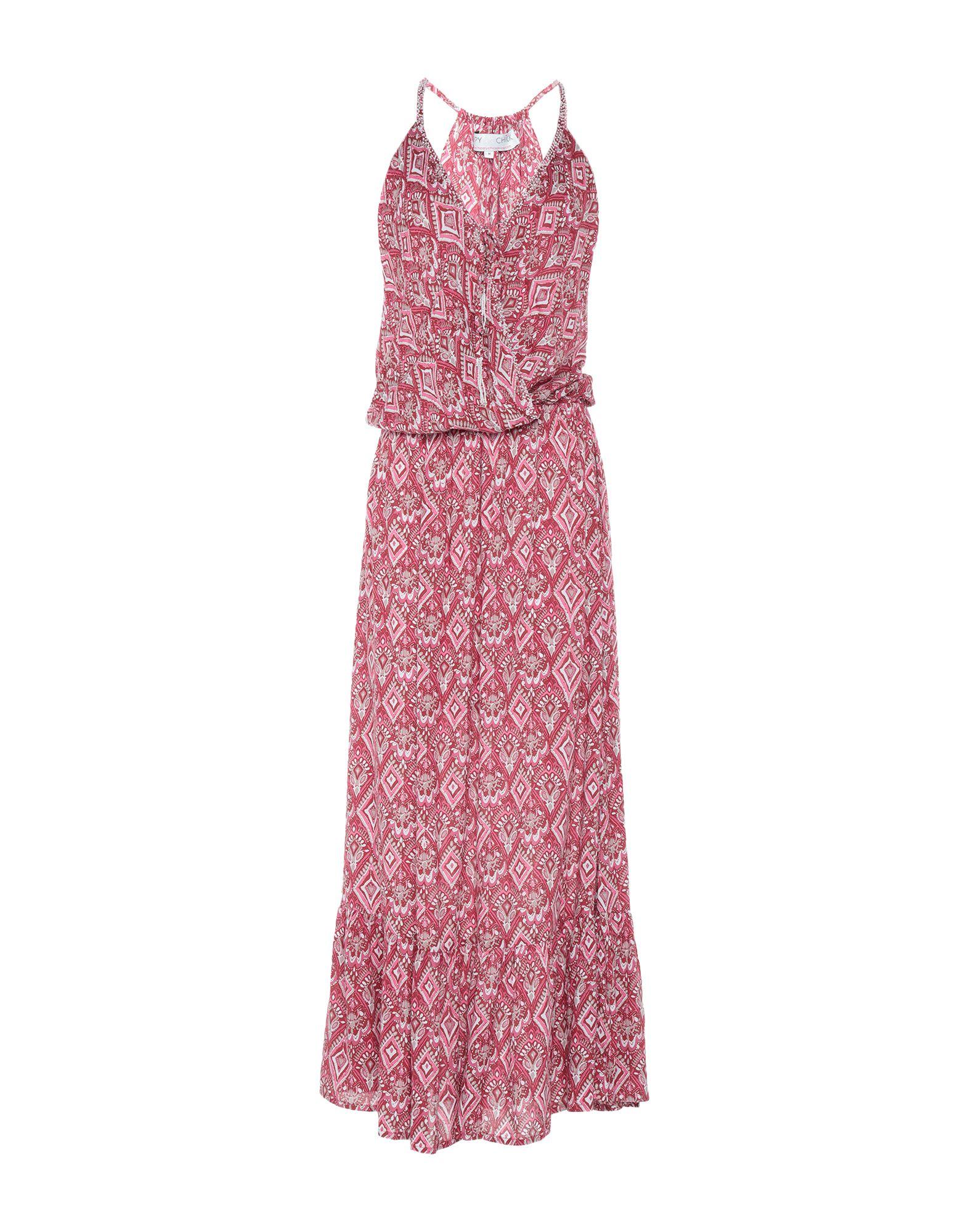 HIPPY CHICK Длинное платье
