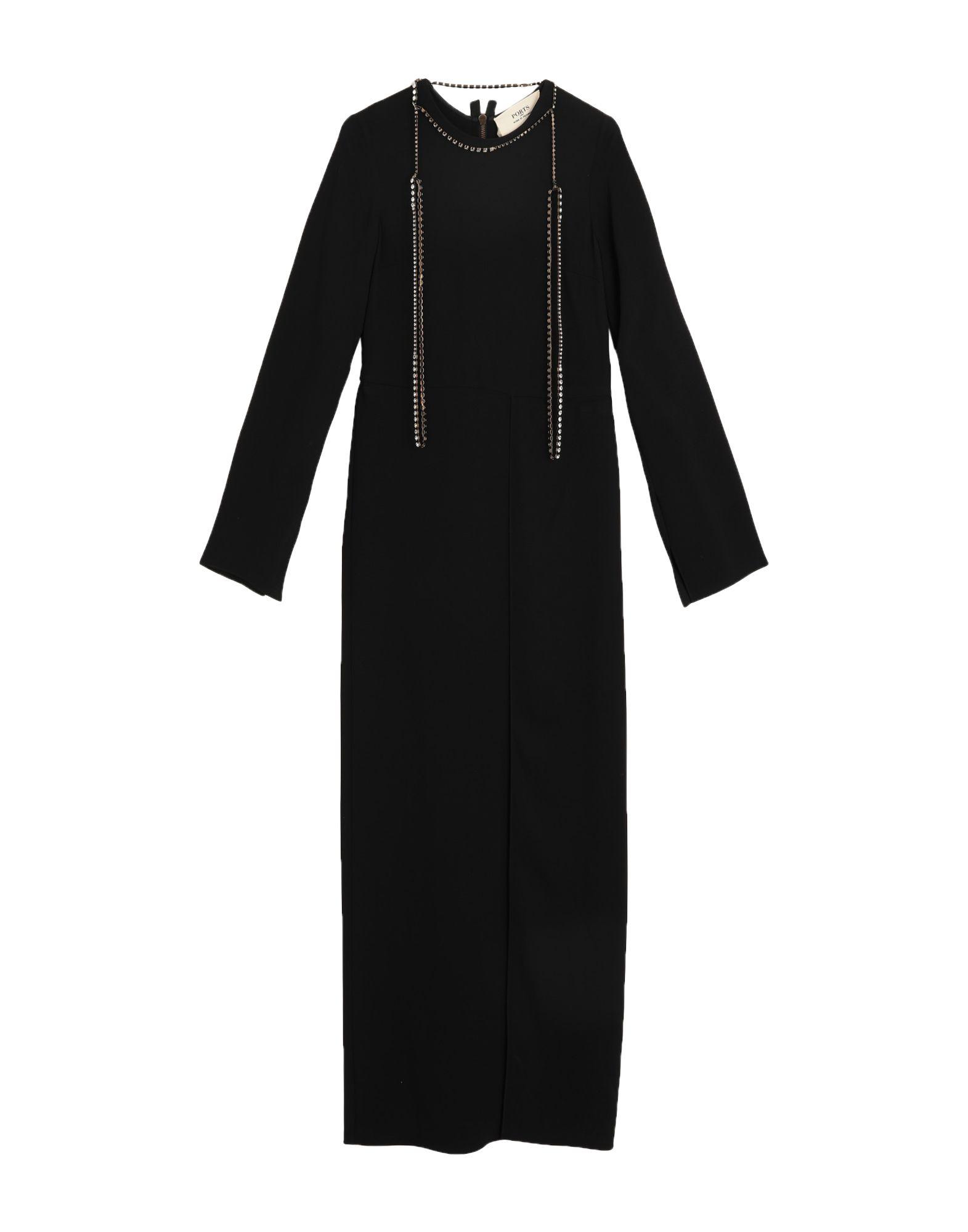 PORTS 1961 Длинное платье kodi каучуковое верхнее покрытие топ финиш для гель лака rubber top 35 мл