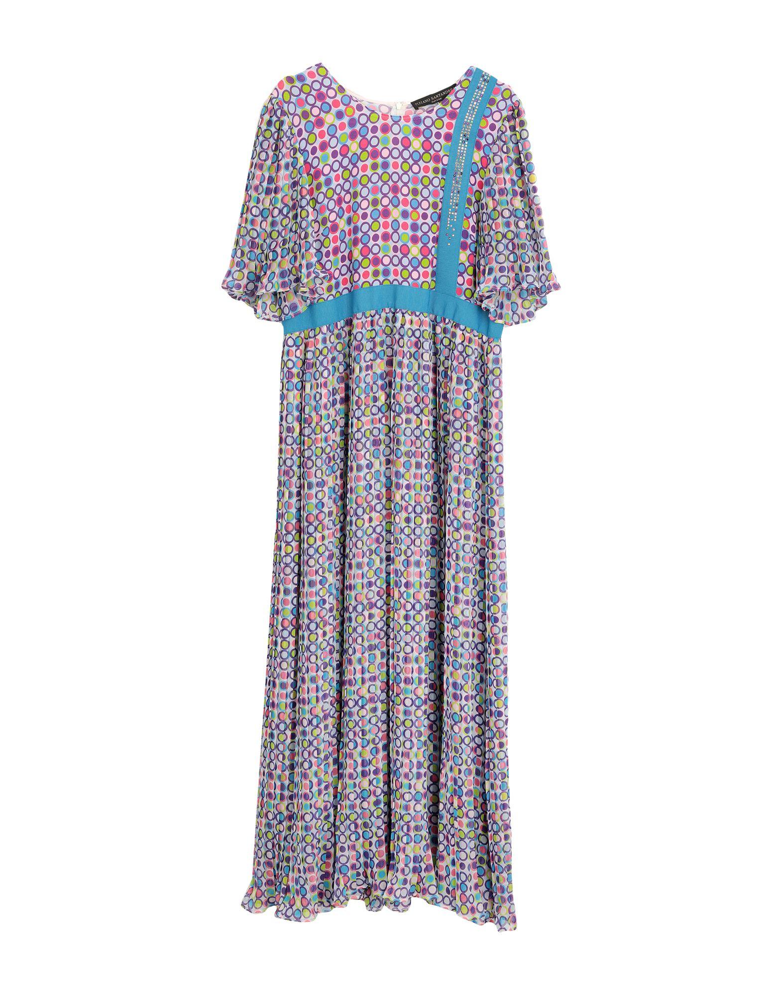 TIZIANO SANTANDREA Длинное платье