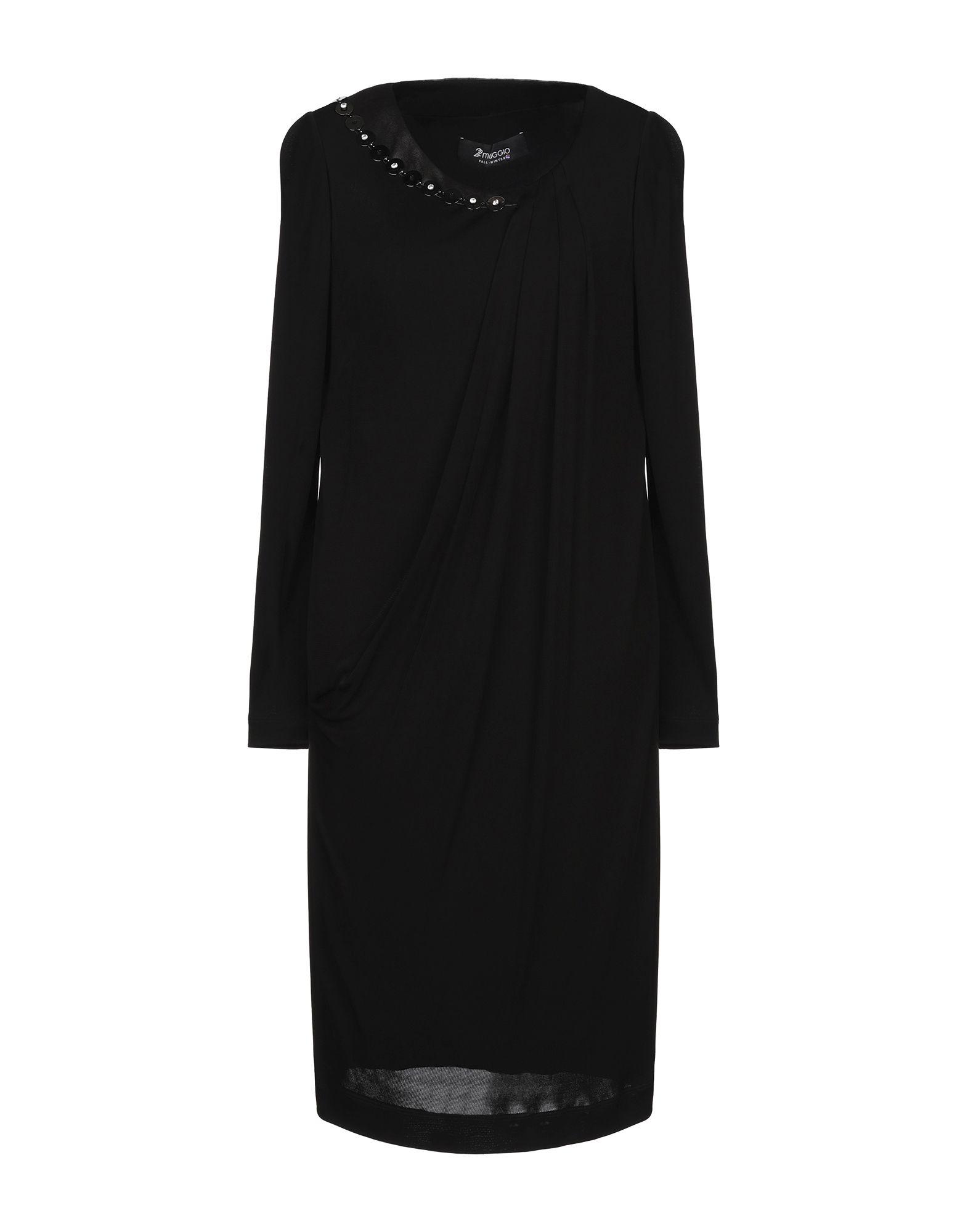22 MAGGIO by MARIA GRAZIA SEVERI Платье до колена свободное платье с гипюром 22 maggio