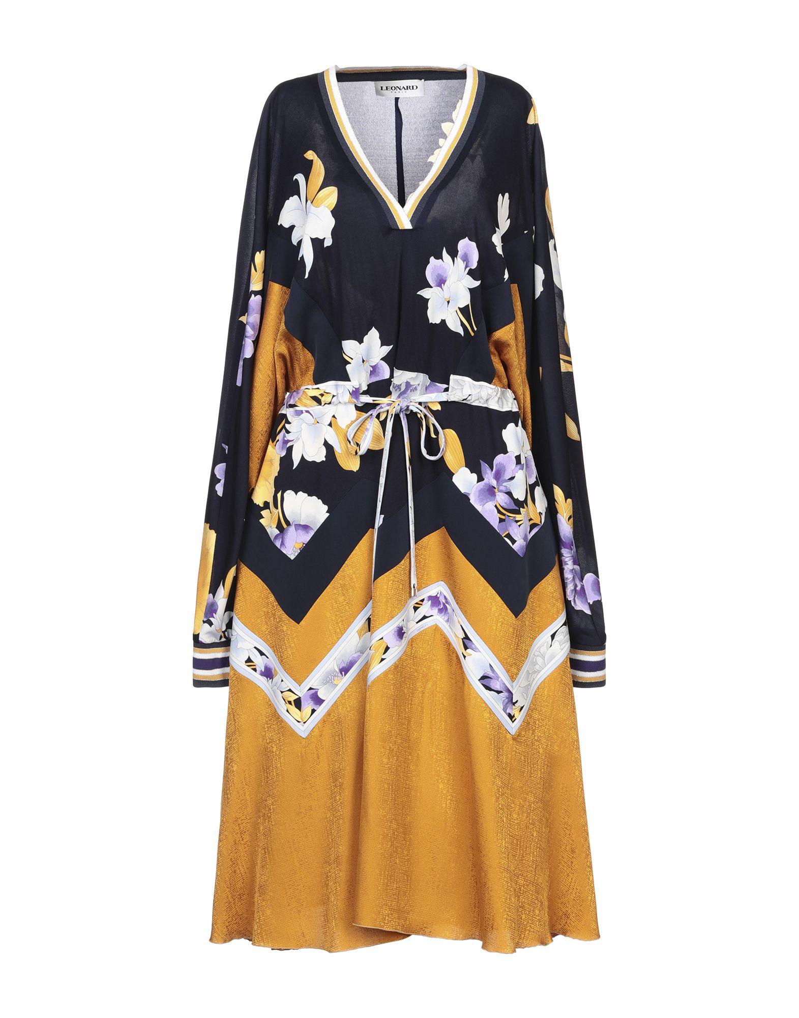 LEONARD Paris Платье до колена