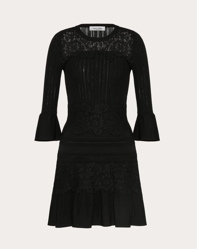 Heavy Lace Knitted Dress