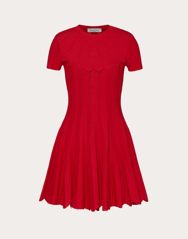Stretch-Viscose Knitted Dress