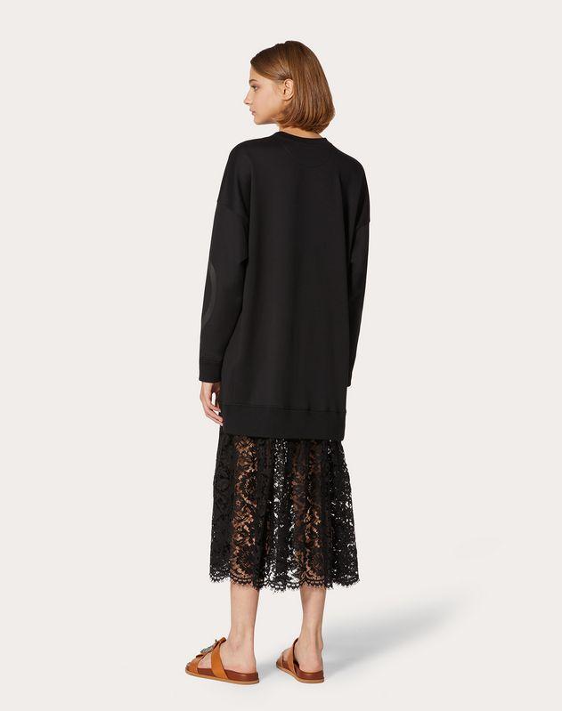 Robe en jersey VLOGO avec jupe en guipure