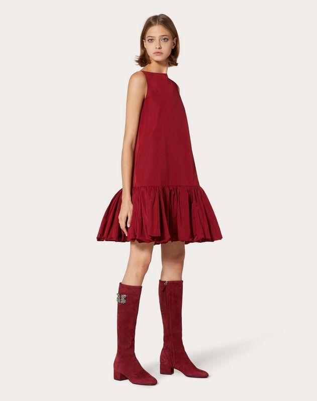 Платье из микрофая