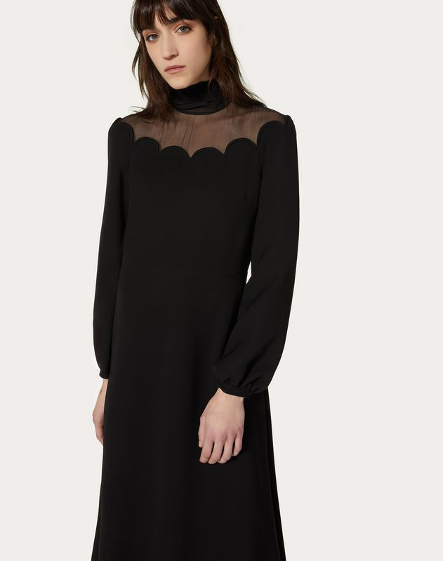 Cady Couture and Chiffon Dress